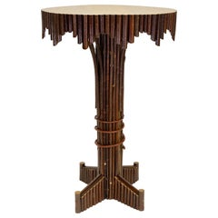 Cisco's Adirondack Lamp Table