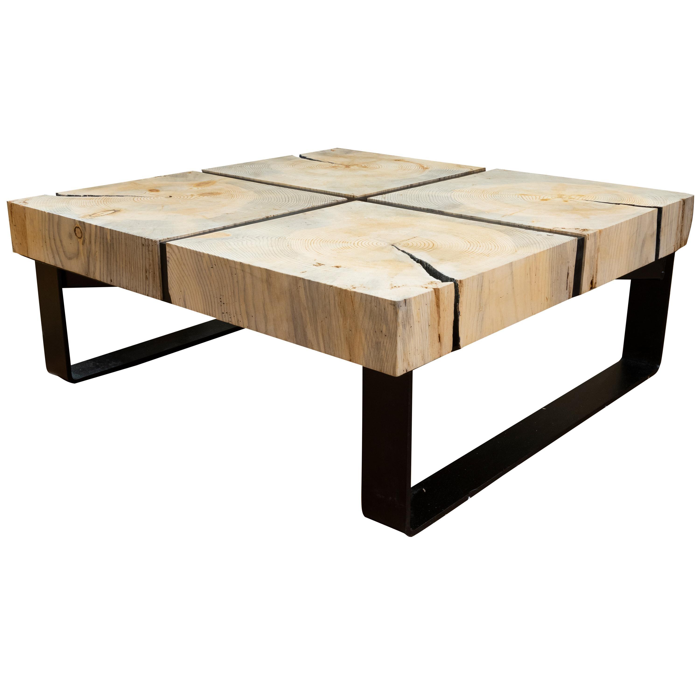 Cisco's Slab Coffee Table