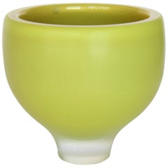 Citreum Yellow Murano Glass Vase or Bowl