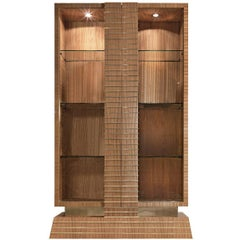 Citronnier Wood Display Cabinet