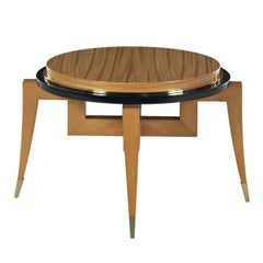 Citronnier Wood Round Coffee Table