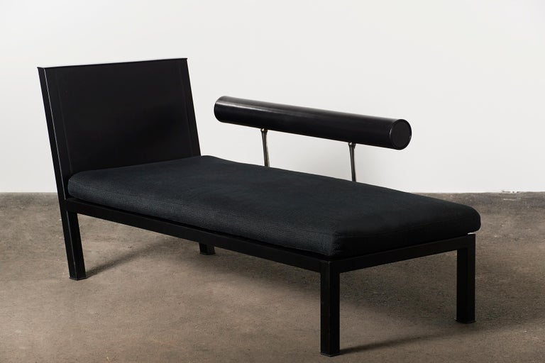 Citterio Sity Chaise Lounge for B&B Italia in Leather & Brioni London Upholstery For Sale 1