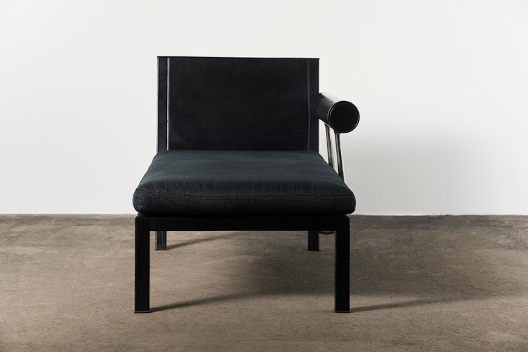Citterio Sity Chaise Lounge for B&B Italia in Leather & Brioni London Upholstery For Sale 2