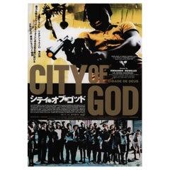 """""""City of God"""" 2004 Japanese B2 Film Poster"""