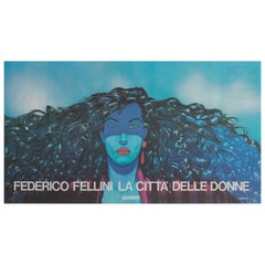 City of Women Original Italian Film Poster, 1980