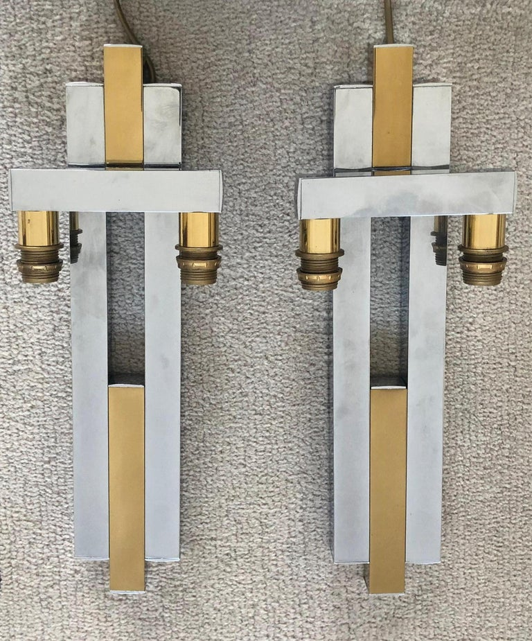 American City Scape Wall Sconces For Sale