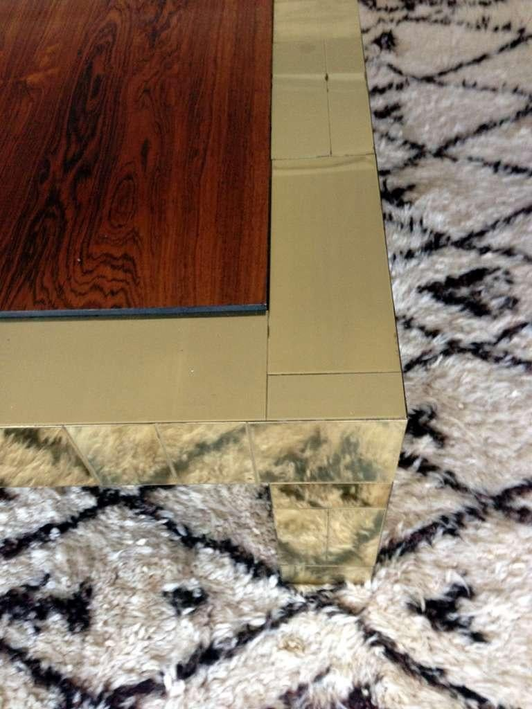 Cityscape Coffee Table Paul Evans for Directional In Good Condition For Sale In North Miami, FL