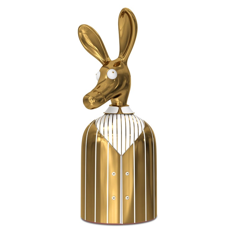 Matteo Cibic Ciuco brass donkey cabinet, new, offered by Scarlet Splendour