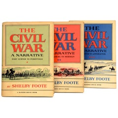Civil War: A Narrative 3 Vol. Set by Shelby Foote