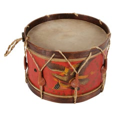 Civil War Drum Made by John C Haynes Company of Boston, Massachusetts