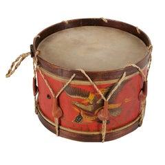 Civil War Drum Made by John C Haynes Company of Boston, Massachusetts