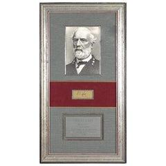 Civil War General Robert E. Lee Signature Collage