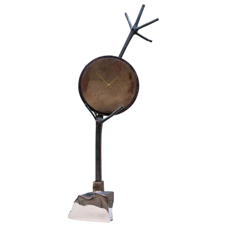 Civilized Primitives Clock For Sale