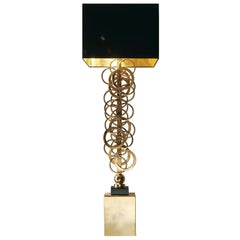 CL1830 Gold Ring Table Lamp