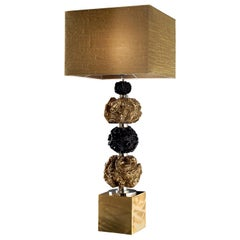 CL1833 Gold-Plated Triple Globe Lamp