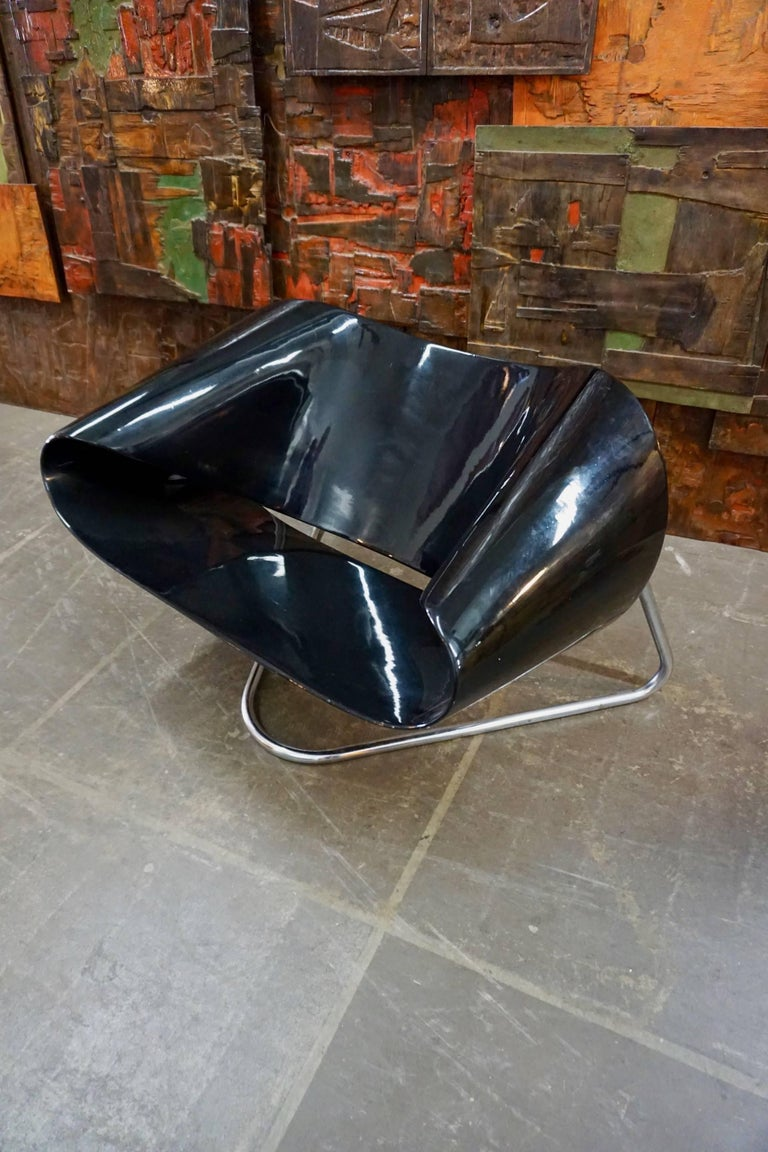 Italian CL9 Ribbon Chair by Leonardi and Stagi For Sale