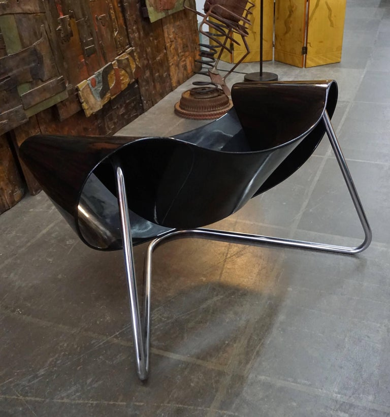 Mid-20th Century CL9 Ribbon Chair by Leonardi and Stagi For Sale