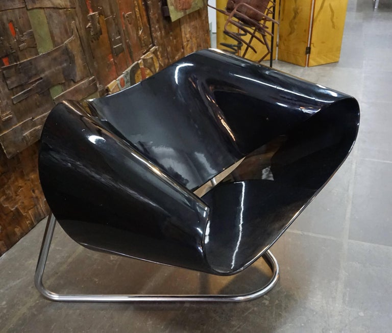 CL9 Ribbon Chair by Leonardi and Stagi For Sale 1