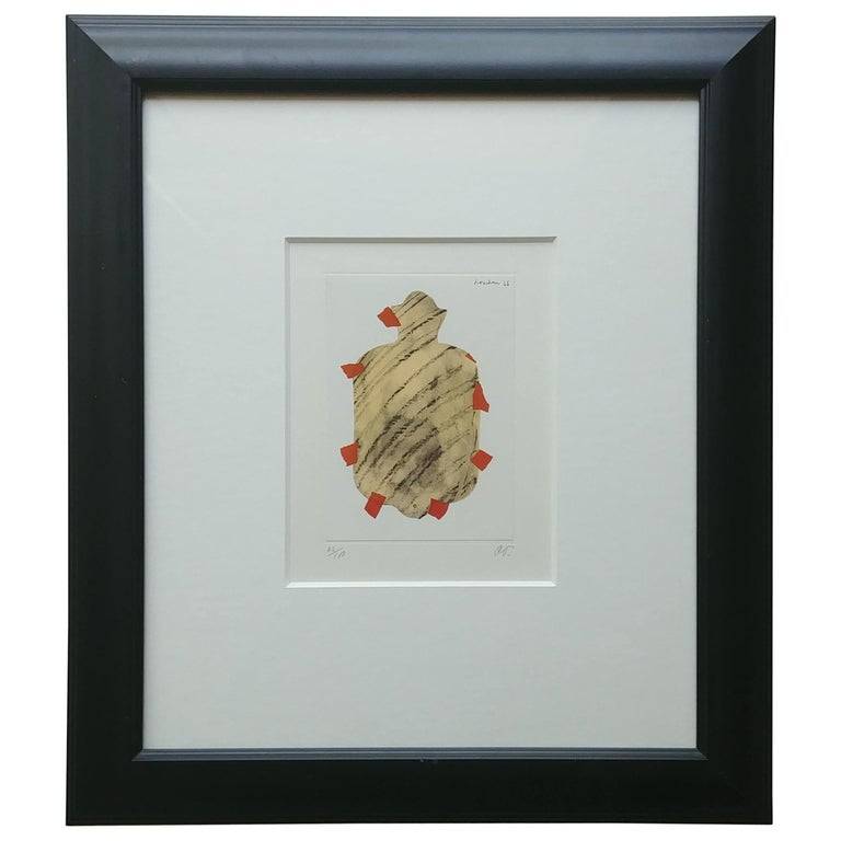 Claes Oldenburg Lithograph, Pop Art, Hot Water Bottle, Pencil, Numbered, Signed For Sale