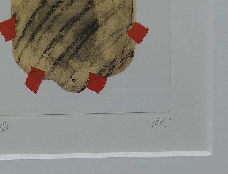 Modern Claes Oldenburg Lithograph, Pop Art, Hot Water Bottle, Pencil, Numbered, Signed For Sale