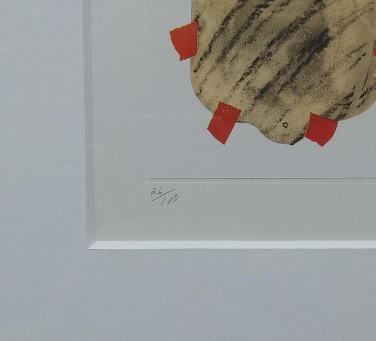 British Claes Oldenburg Lithograph, Pop Art, Hot Water Bottle, Pencil, Numbered, Signed For Sale