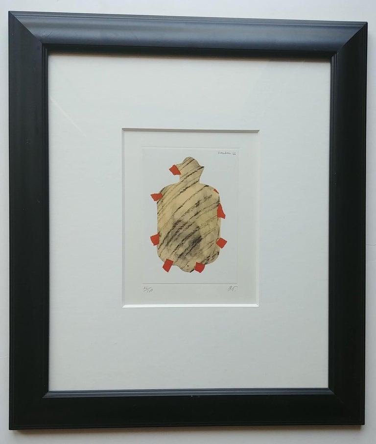 Mid-20th Century Claes Oldenburg Lithograph, Pop Art, Hot Water Bottle, Pencil, Numbered, Signed For Sale