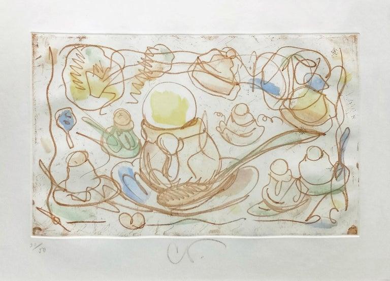 Claes Oldenburg Figurative Print - ICE CREAM DESSERTS