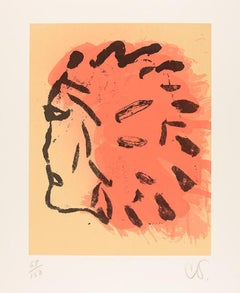 Indian Head from the Peace Portfolio, by Claes Oldenburg