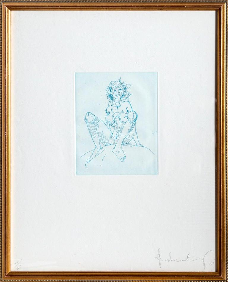 Medusa, Etching by Claes Oldenburg For Sale 1