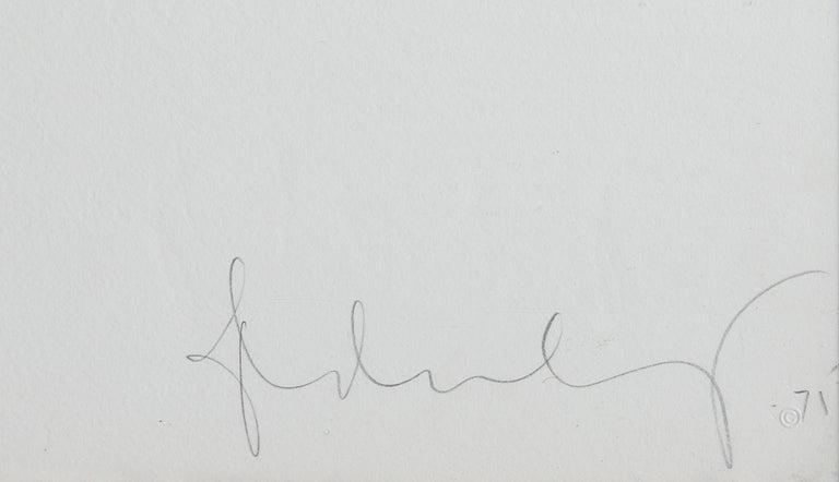 Medusa, Etching by Claes Oldenburg For Sale 3