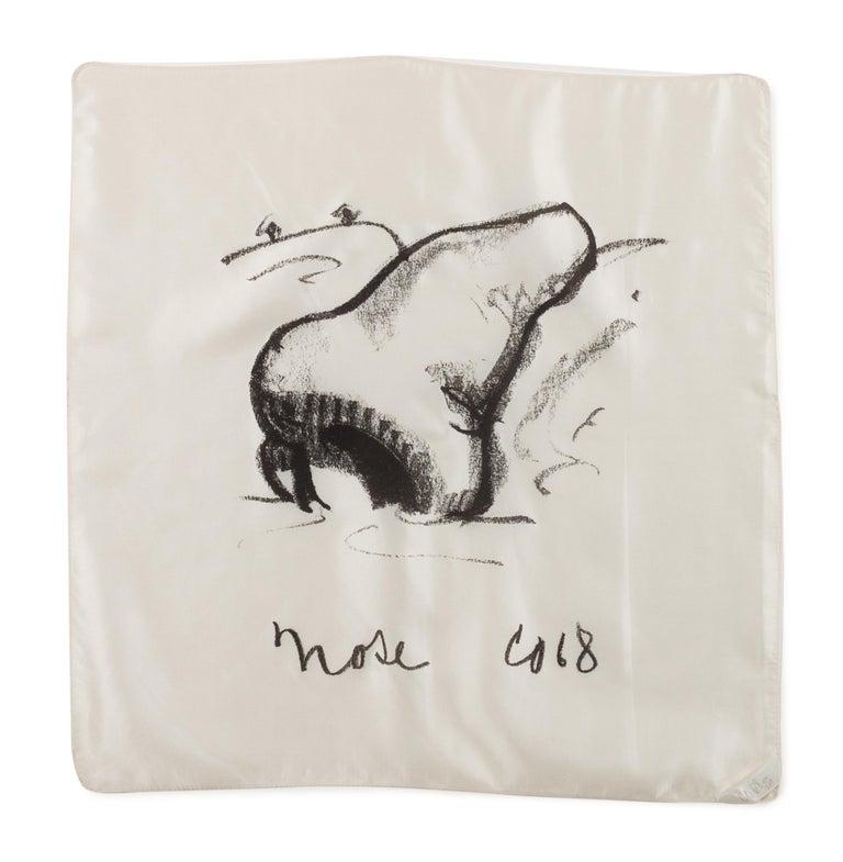 Claes Oldenburg Figurative Print - Nose Handkerchief