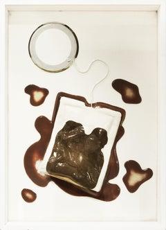 Claes Oldenburg, Teabag, Screenprint and plexiglas, 1966