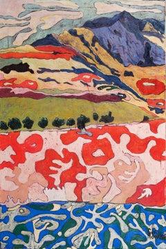 Pamushana - Landscape, Nature, surrealistic, Contemporary Art, 21stC., colours