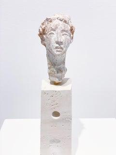 Artists & Poets I, Claire McArdle. Italian terra cotta figurative sculpture.