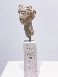 Artists & Poets III by Claire McArdle. Italian terra cotta figurative sculpture.