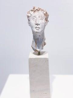 Artists & Poets IX, Claire McArdle. Italian terra cotta figurative sculpture.
