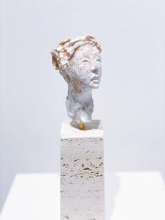 Artists & Poets V, Claire McArdle. Italian terra cotta figurative sculpture.
