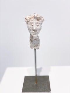 Artists & Poets VII, Claire McArdle. terra cotta figurative sculpture.