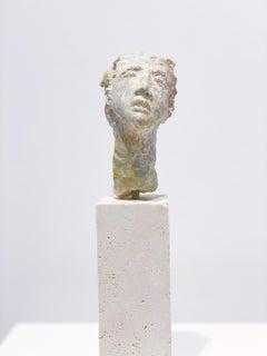 Artists & Poets VIII, Claire McArdle. Italian terra cotta figurative sculpture.