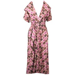 Claire McCardell Cotton Long Afternoon Dress