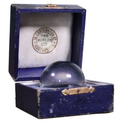 "Claire Voyant Crystal Ball ""Two World Ltd"" Spiritualist Occult"