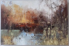 Claire Wiltsher, Ethereal Light 2, Original Painting, Nature Art, Landscape Art