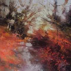 Claire Wiltsher, Sunrise Reception, Original Contemporary Abstract Expressionism