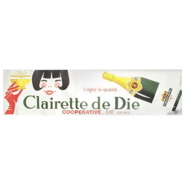 Clairette De Die by Alain Gauthier Original Vintage Poster