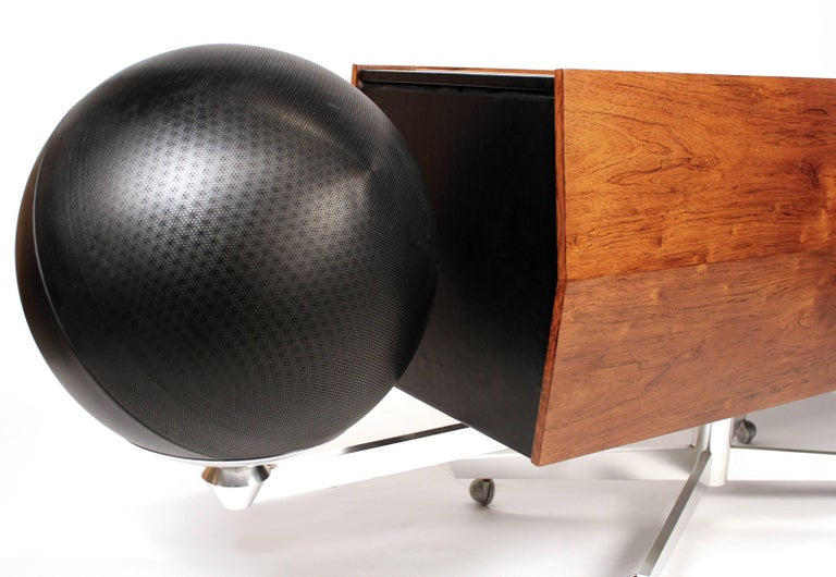 Canadian Clairtone Project G-1 Model T10 Rosewood Stereo System For Sale