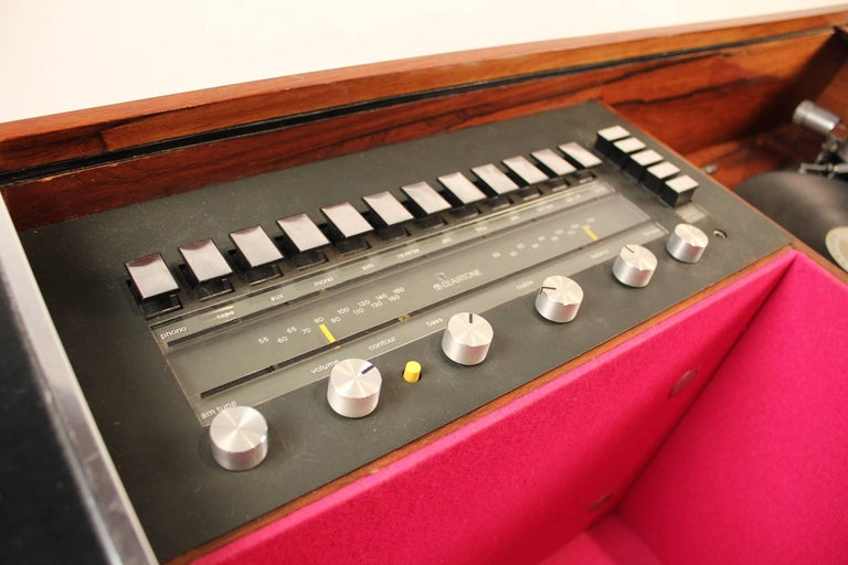 20th Century Clairtone Project G-1 Model T10 Rosewood Stereo System For Sale