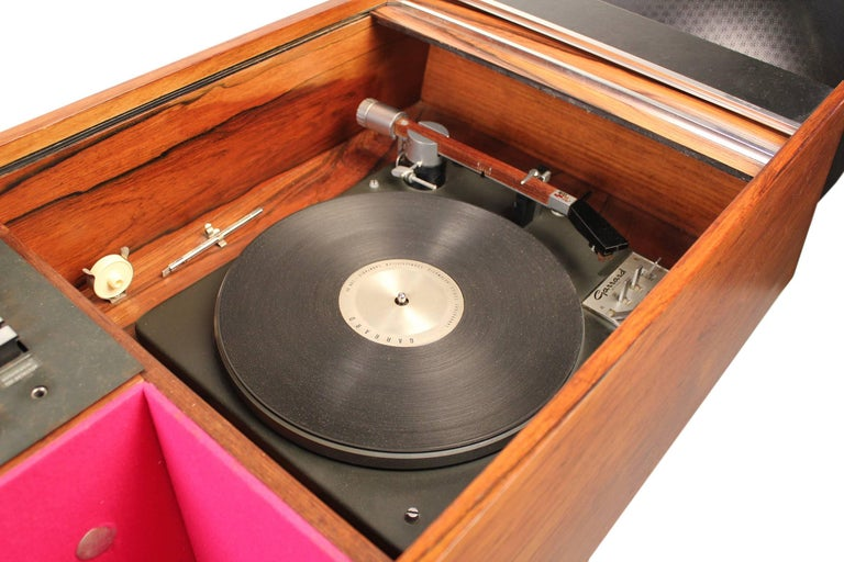Clairtone Project G-1 Model T10 Rosewood Stereo System For Sale 1