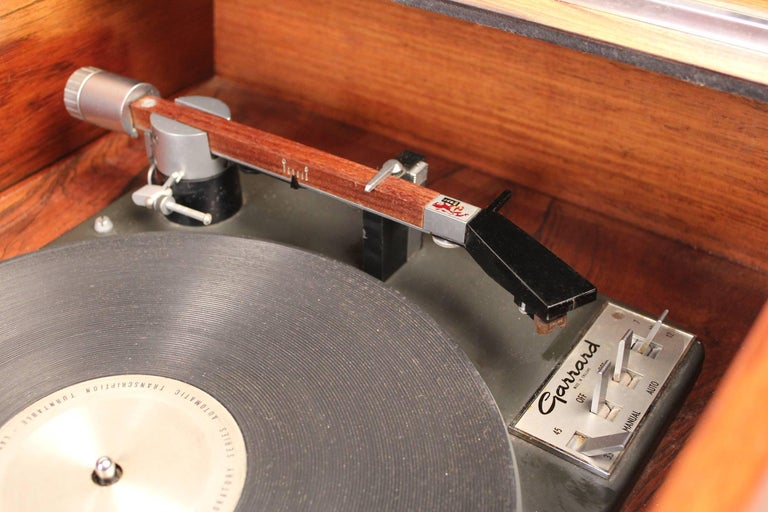 Clairtone Project G-1 Model T10 Rosewood Stereo System For Sale 2