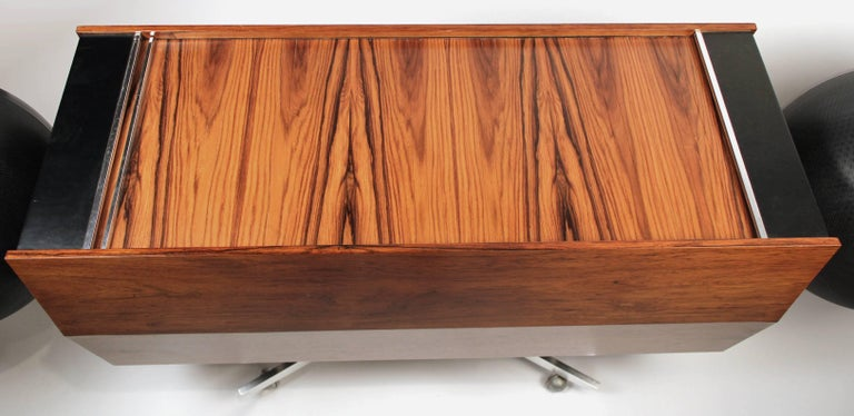 Clairtone Project G-1 Model T10 Rosewood Stereo System For Sale 3