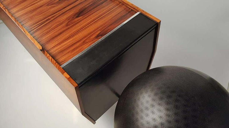 Clairtone Project G 1 T4 Rosewood Stereo System First Generation by Hugh Spencer For Sale 5